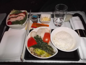 Around the World in 2 weeks, Part 5: Cathay Business class to Manila