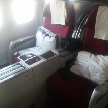Flight review: Qatar Airways (QR) Doha to Dallas in Business Class on 777