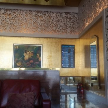 Mumbai Airport – GVK Business Lounge T2 – International Terminal
