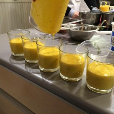 Indian cooking course: Mango Lassi recipe