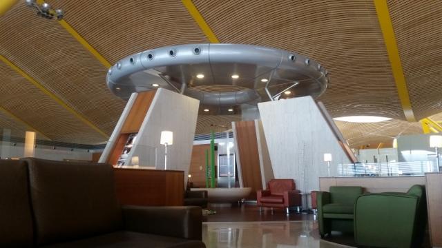 Madrid Airport Barajas T4 Iberia Schengen Dali Lounge
