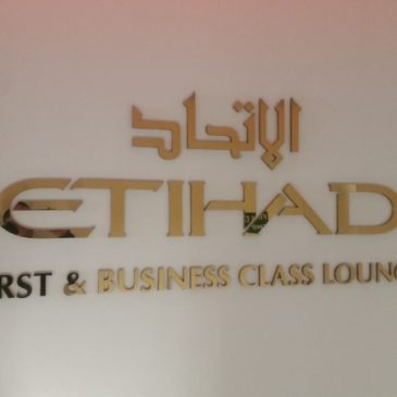 Etihad Airways – First and Business lounge at London Heathrow (LHR) Terminal 4