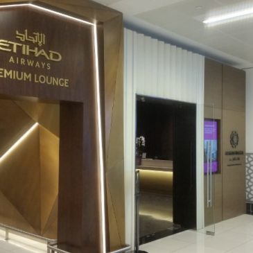 Etihad Premium lounge at Abu Dhabi – Terminal 1 (beside the Al Reem lounge)