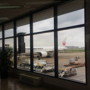 Japan Airlines (JAL) in Premium Economy from Shanghai (SHA) to Tokyo (HND)