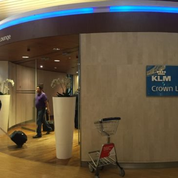 KLM Crown lounge (number 52) at Amsterdam (AMS) Schiphol: Non-schengen