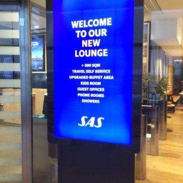 SAS Business lounge in Stockholm Arlanda (ARN)