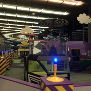 Kids on the Fly – Children's playground at Chicago Ohare airport (ORD)