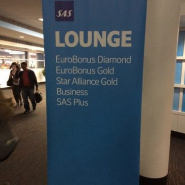 SAS lounge at Chicago O'hare (ORD)