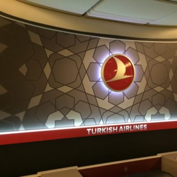 Turkish Airlines in Business class from Chicago (ORD) to Istanbul (IST) on 777