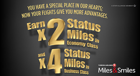 Best mileage run ever – four times Status Miles for Turkish Airlines