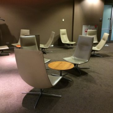 Lufthansa Senator Lounge Schengen opposite gate G28 in Munich