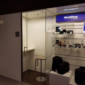 Lufthansa Senator Lounge II Schengen opposite gate G24 in Munich