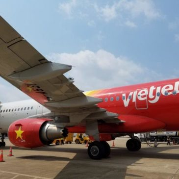 Vietjet Air from Phu Quoc (PQC) to Ho Chi Minh city (SGN)