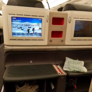 Turkish Airlines Kuala Lumpur (KUL) to Istanbul (IST) in Business Class on A330