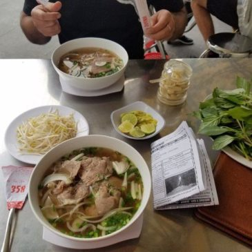 Food guide for Ho Chi Minh city Vietnam