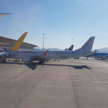 Flying with Vueling airlines – Bilbao to Amsterdam