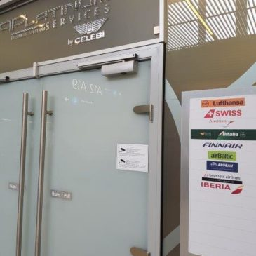 Platinum Services lounge (by Celebi) at BUD (Budapest airport) – for Lufthansa and Star Gold members
