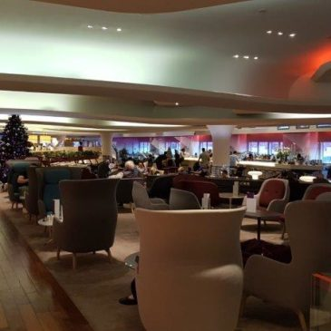 Virgin Atlantic Clubhouse in London Heathrow (LHR) in Terminal 3