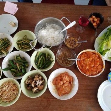 A quick way to prepare a Korean barbeque (BBQ) at home