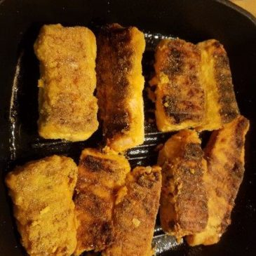 Indian style fish fry recipe – Salmon fry