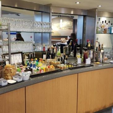 Lufthansa Business Lounge, Athens (ATH) international Airport in Greece