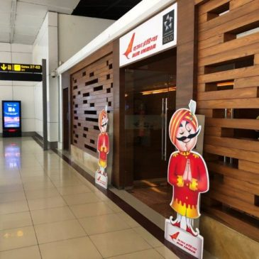 Air India domestic Lounge Terminal 3 at Delhi Airport (DEL)