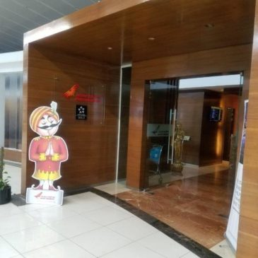 Air India Maharaja International Lounge Terminal 3 at Delhi Airport (DEL)