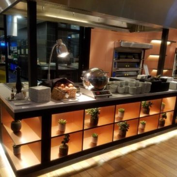 Turkish Airlines Business class Lounge in the new Istanbul Airport (IST)