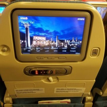 Turkish Airlines (TK) in economy class from Mumbai (BOM) to Istanbul on 777
