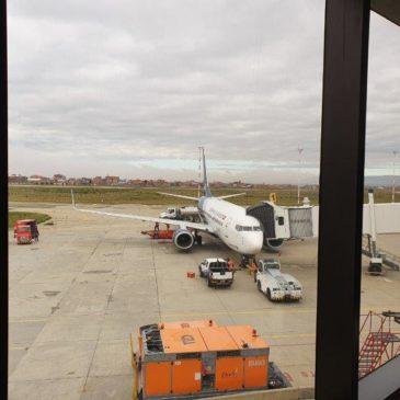 La Paz (LPB) to Uyuni (UYU) on BOA airlines (Boliviana de Aviación)