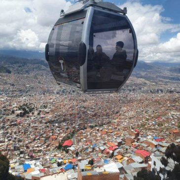 Mi Teleférico – a cable car based urban public transport system in La Paz, Bolivia