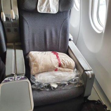 Avianca (AV) in business class from Bogota (BOG) to New York (JFK) on A330
