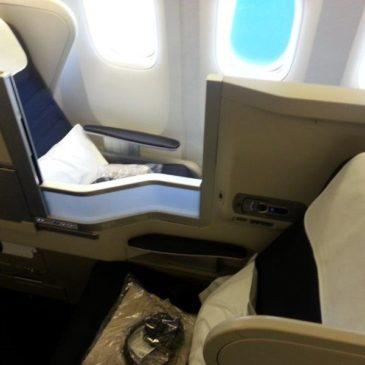 British Airways (BA) in business class from London Heathrow (LHR) to New Delhi (DEL)