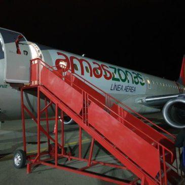 Uyuni (UYU) to La Paz (LPB) on Amaszonas airlines – Bolivia